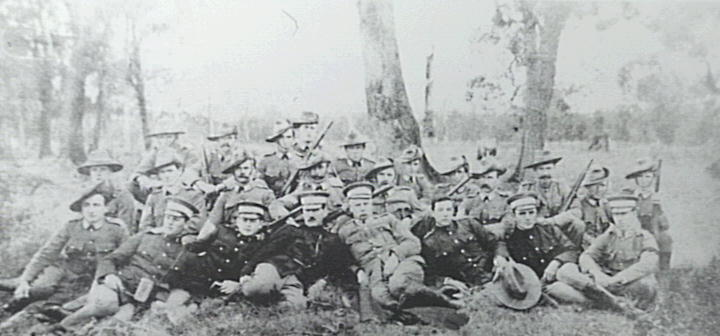 Albion Park Rifles in the early 1900s