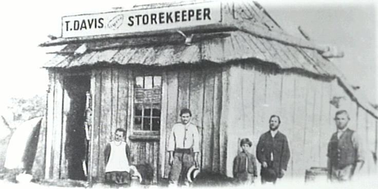 Thomas Davis' store at Tullimbar